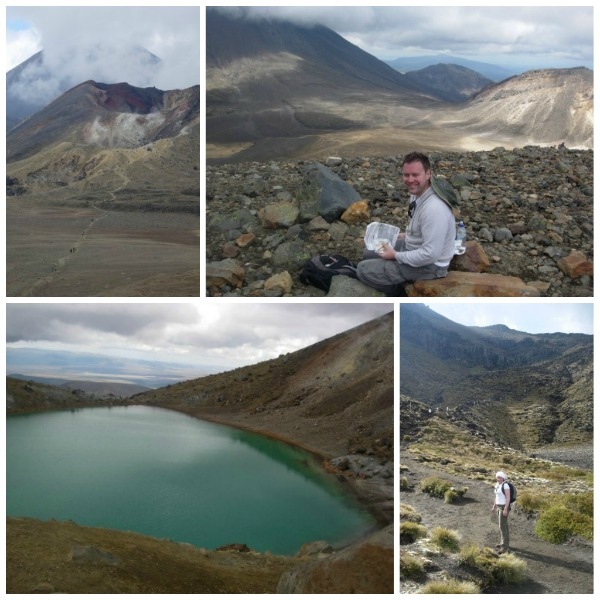 PODcast - The Tongariro Crossing collage